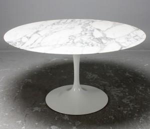 eero saarinen knoll international matbord tulip marmor