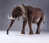 Hansa Toys. Large mechanical elephant, H: 120 cm