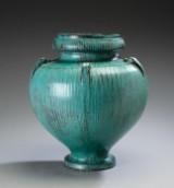 Svend Hammershøi for Kähler. Floor vase, earthenware