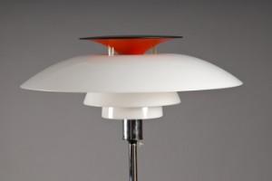 Vare: 1810192 Poul Henningsen 1894-1967. PH-80 gulvlampe