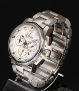 Corum 'Admirals Cup'. Oversize men's chronograph with certificate from 2012