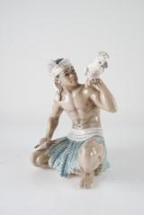 Dahl Jensen. Pojke med Kakadua