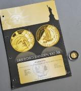 USA. 5 dollars guldmønt 1986. Frihedsgudinden 100 år