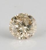 1 loose brilliant-cut diamond 0.30ct