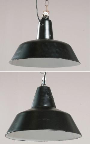 ware 3305045 zwei werkslampen industrielampen industrieleuchten der 1950er 1960er jahre 2. Black Bedroom Furniture Sets. Home Design Ideas