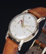 Leager-LeCoultre 'Futurematic'. Vintage herreur i forgyldt stål, 1950'erne