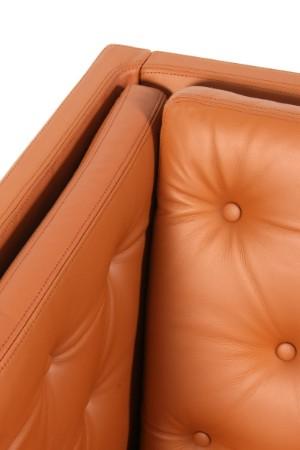 erik j rgensen fritst ende sofa model ej 315 cognac l der. Black Bedroom Furniture Sets. Home Design Ideas
