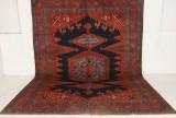 Handknuten äkta matta, Wiss, 417x305 cm