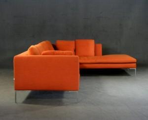 antonio citterio two part sofa charles for b b italia 2. Black Bedroom Furniture Sets. Home Design Ideas