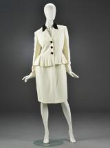Moschino, dragt, blazer samt nederdel, str. 40/42 (2)
