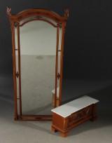 Spegel med konsolbord, sent 1800-tal (2)