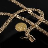 Halscollier og armbånd i guld. Denne vare er sat til omsalg under nyt varenummer 2417962