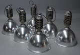 Zumtobel. Et sæt på seks industripendler, model Copa. XL (6)