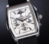 IWC 'Da Vinci 'Kurt Klaus' Perpetual Calendar Chronograph'. Herreur i platin - boks + cert. 2008