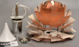 Poul Henningsen. 'PH Artichoke', PH pendant, copper, Ø 48 cm with accompanying numbered certificate