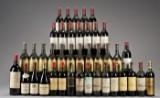 Samling af primært Grand Cru Classè vine (40).