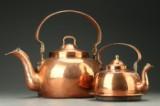 To kedler af kobber, 1800-tallet (2)
