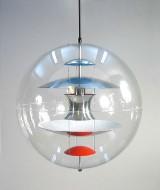 Verner Panton: Verpan Globe/pendel Ø.50cm. 1969, Ny
