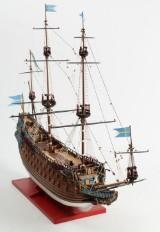 Stor skibsmodel af WASA 1628  (håndbygget)