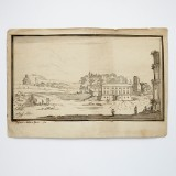 Pennteckning av prins Fredrik Adolf