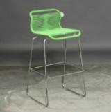 Verner Panton. VP ONE barstol i farven KLARGRØN