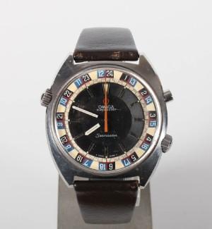 Nye og brugte herreure - Rolex, Cartier, Omega, Breitling - Vintage Omega Seamaster Chronostop ...