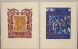 Sonia Brandes, to papirklip, 'Saul' & 'Fundet i Nilen' (2)