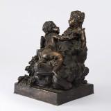 Figurgrupp brons