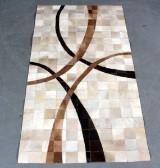 Koskindstæppe. Patchwork, 149 x 82 cm.