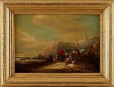 Oidentifierad konstnär 1800-tal oljemålning