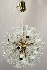 Emil Stejnar, hanging lamp/chandelier model 'Snowball/Pusteblume' for Rupert Nikoll