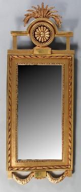 Spegel, gustaviansk, tidigt 1800-tal