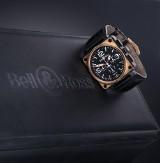 Bell & Ross 'BR01-94 Chronograph'. Oversize herreur i 18 kt. roséguld og stål - boks + cert. 2007