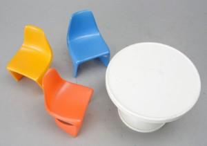 Miniature møbler (4)