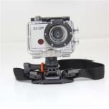 Actionkamera med  FULL HD 1080 x 1920 kvalitet, LCD skærm og vandtæt til 50 meter.