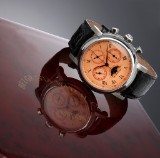 Belgravia Watch Co. 'Chronotempo'. Limited edition men's watch, steel, with certificate