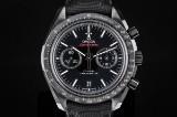 Omega Speedmaster Moonwatch Chronograph men's watch, black ceramik, ref. 311.92.44.51.01.003