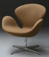 Arne Jacobsen. The Swan easy chair, Fame wool, 2011