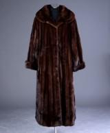 Ole B. Christensen. Mink coat