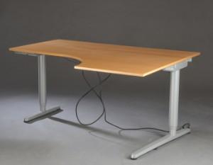 Ikea Elektrisk Justerbart Skrivebord Model Galan Denne Vare Er Sat