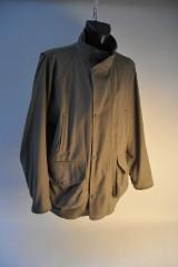 Purdey fieldcoat i støvet grøn tweed str. XL