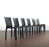 Mario Bellini, sæt stole model Cab 412 fremstillet hos Cassina (6)