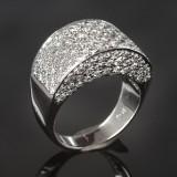 Brilliant-cut diamond ring, approx. 1.96 ct.