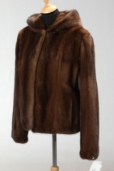 Short Scanglow mink jacket