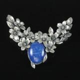 Vedhæng af Sterling sølv med lapis Lazuli