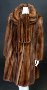Saga mink coat, size approx. 40-44