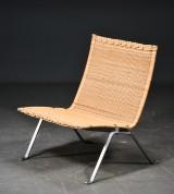 Poul Kjærholm. PK-22 easy chair, cane