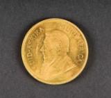 Krugerrand, guldmønt 1974