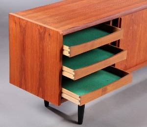 ubekendt dansk m bel arkitekt producent 1960 erne sk nk af teaktr. Black Bedroom Furniture Sets. Home Design Ideas