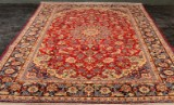 Persisk Nadjafabad. Ren uld på bomuld. Ca. 10 kvm